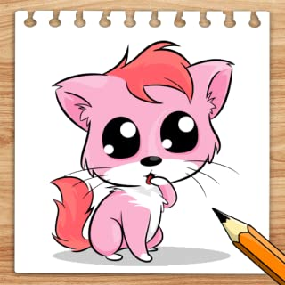How To Draw kawaii Cat and Dog Easily