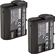 BM Premium 2 Pack of EN-EL15C High Capacity Batteries for...