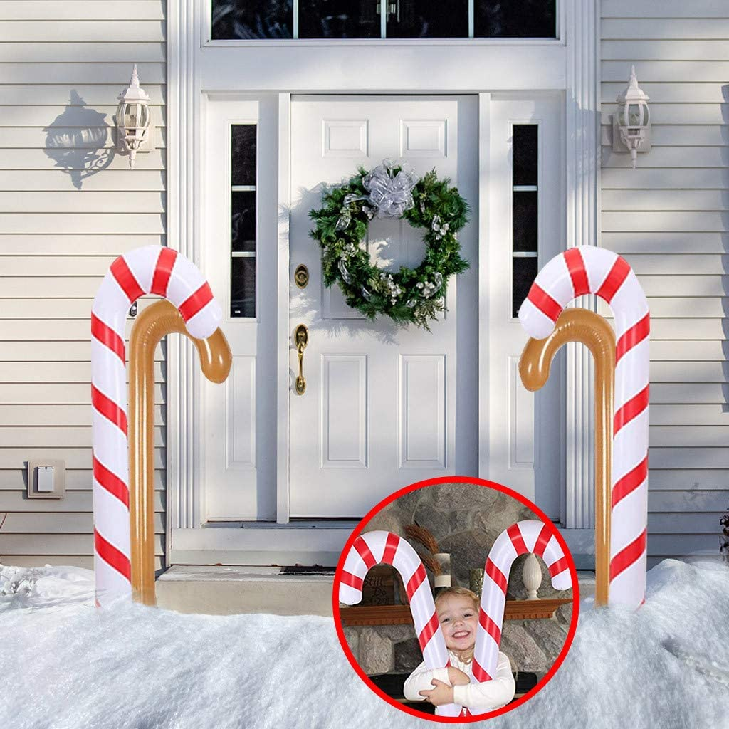Buy SALE & CLEARANCE 200.20inch Christmas Inflatable Candy Canes ...
