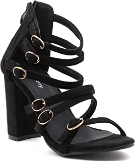 Shuberry SB-18102 Suede Gladiator for Party