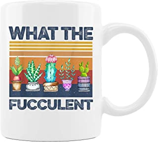 Personalized Mug of Growing Succulents