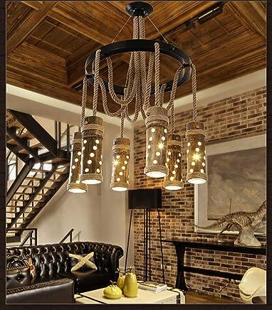 Amazon.es: lámparas rusticas de techo - 200 - 500 EUR ...