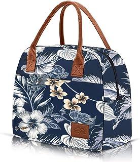 Moyad Sac Isotherme Repas Lunch Bag Sac Déjeuner Portable 12L Sac de Pique-niques Sac à Lunch Isolé pour Adultes et Enfant...