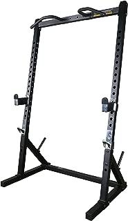 Powertec Fitness Workbench Half Rack - Black Workbench Half Rack -