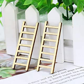 tall wooden step ladder