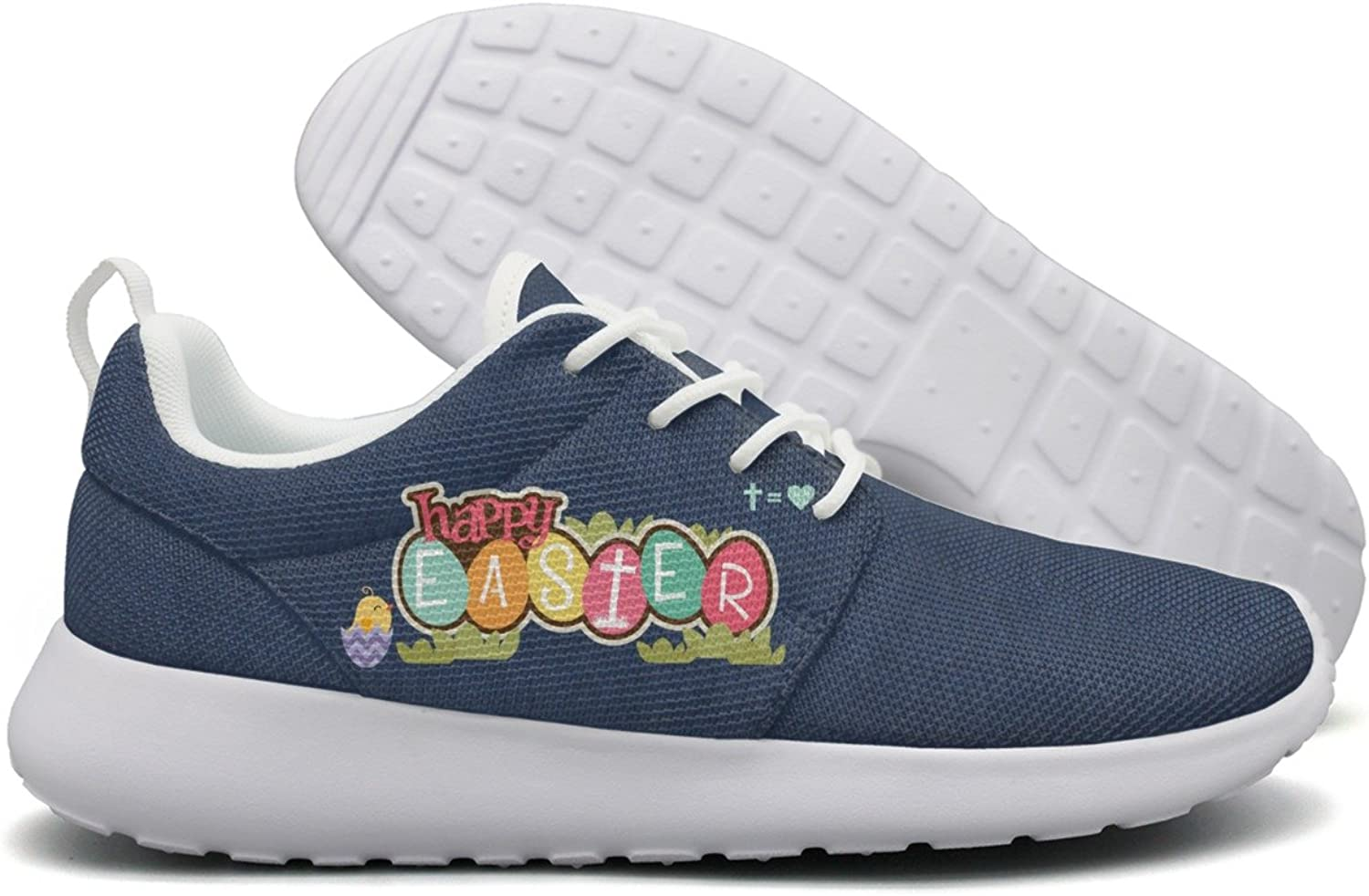 Happy Easter Sunday Women Flex Mesh Ladies Running shoes