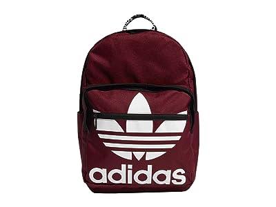 adidas Originals Originals Trefoil Pocket Backpack (Collegiate Burgundy 1) Backpack Bags