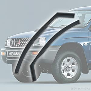 carmats4u Fully Tailored Wind Rain Deflectors Includes Clips Adhesive and Instructions  FRONTS ONLY