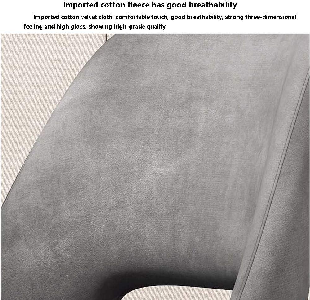 tabouret WFF Prémonté Chaise de Salle Nordique Retour Accueil Moderne Minimaliste Chaise Réception Réception Réception Chaise Longue (10 Couleurs) (Color : C) B