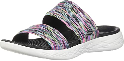 damen& 39;s On-The-go 600-Bedazzling Slide Sandal