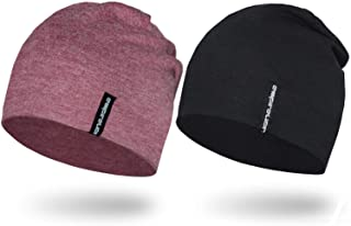 "Empirelion 9"" Multifunctional Lightweight Beanies Hats, Running Skull Cap Helmet Liner Sleep Caps for Men Women"