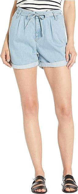 Layla High-Rise Shorts in Light Blue Summer Denim