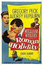 Pop Culture Graphics Roman Holiday Poster Movie French B 11x17 Audrey Hepburn Gregory Peck Eddie Albert Tullio Carminati