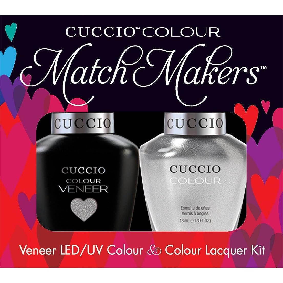 船乗り火山の対象Cuccio MatchMakers Veneer & Lacquer - Hong Kong Harbor - 0.43oz / 13ml Each