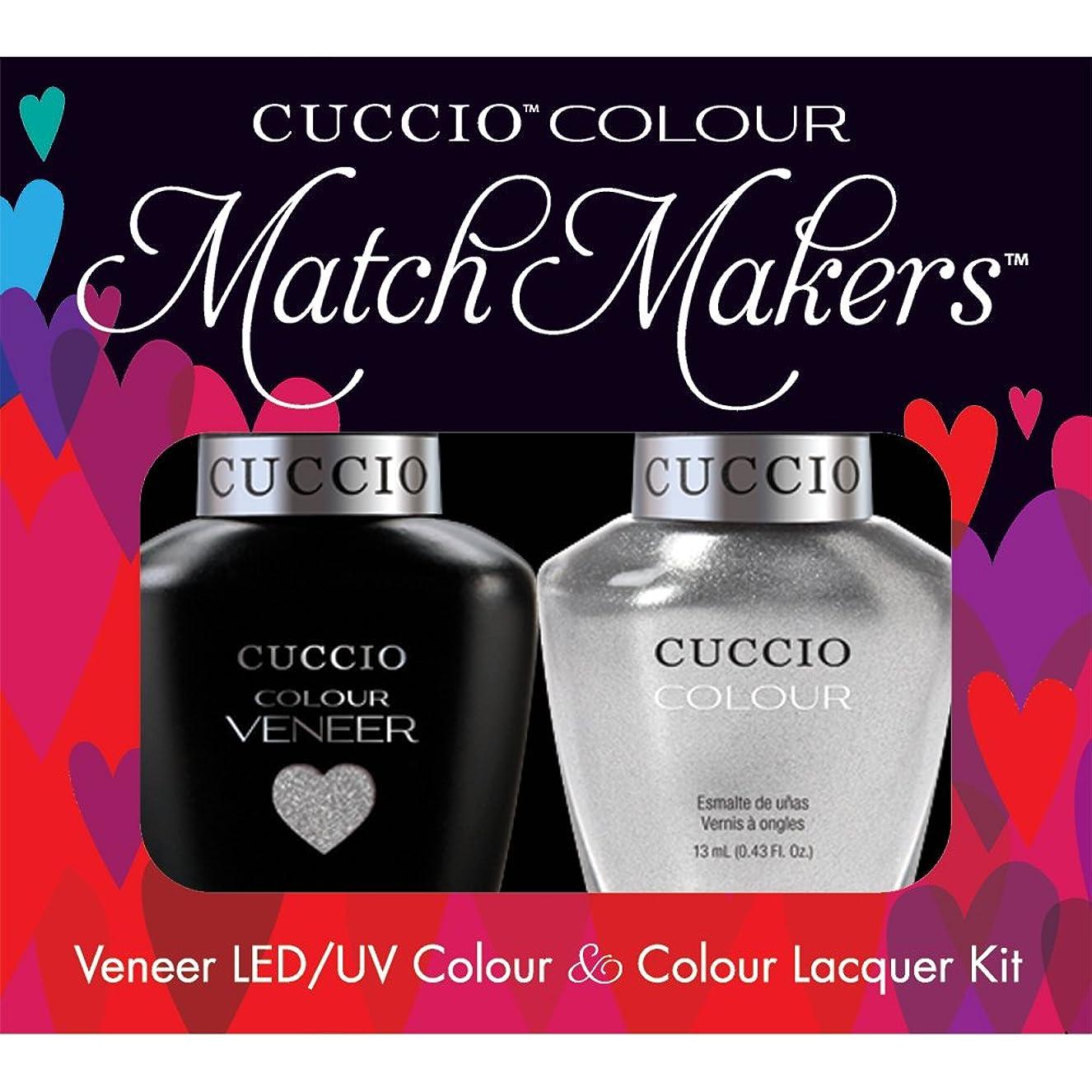 冒険者散る宇宙飛行士Cuccio MatchMakers Veneer & Lacquer - Hong Kong Harbor - 0.43oz / 13ml Each