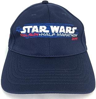 Disney 2019 Rival Run Star Wars Half Marathon Weekend Hat Cap Adult Blue