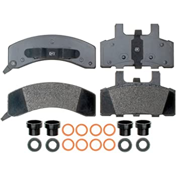 ACDelco 17D369MH Professional Semi-Metallic Front Disc Brake Pad Set