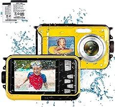 デジカメ 防水 デジカメ 防水カメラ デジカメ 水中カメラ デジタルカメラ スポーツカメラ 2.7K 48.0MP デュアルスクリーン Micro SDカード 最大128GB対応 日本語説明書付き