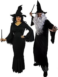 UNGHIE 12 Pezzi Nero Streghe Accessori Costume Accessori Halloween Strega