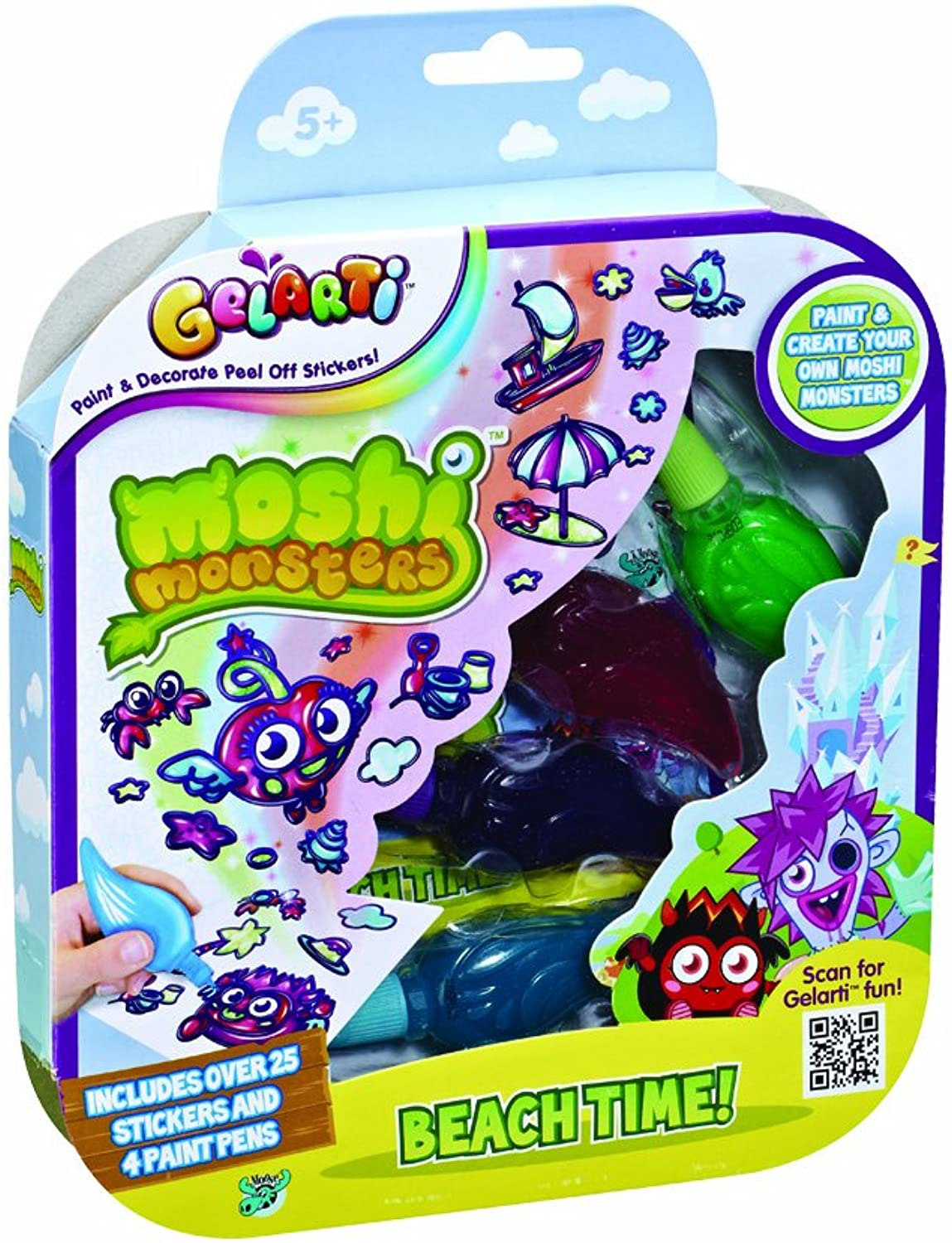 Gelarti Moshi Monsters  Various Themes