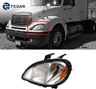 Fedar Headlight Assembly for 2001-2018 Freightliner Columbia
