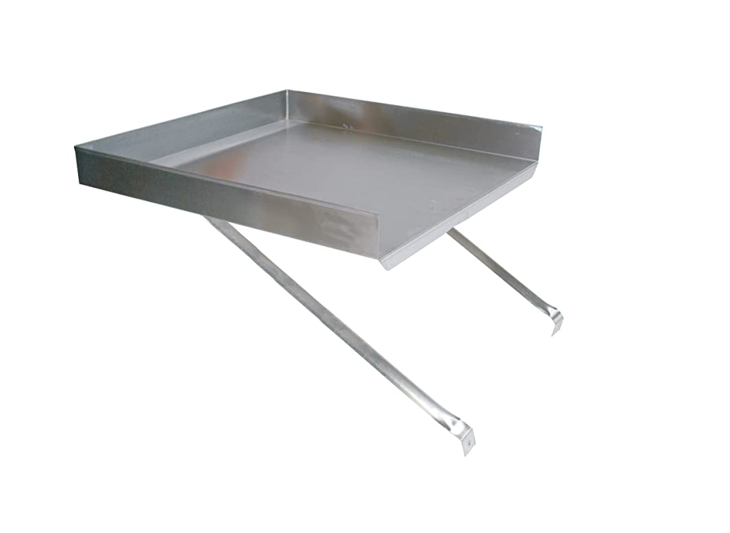 John Boos BDDS8-18 Stainless Steel 430 Detachable Drain Board, for 18