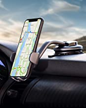 AUKEY Car Phone Mount 360 Degree Rotation Dashboard Windshield Car Phone Holder Strong Suction Compatible with iPhone 11 Pro Max / 11 / XS Max/XS / 8, Samsung Galaxy S10+, Google Pixel 3 XL, and More