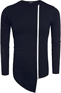 Men's Casual Turtleneck Shirts Thermal Top Pullover Long Sleeve Sweaters