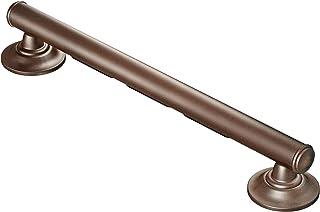 Moen LR8724D1GOWB Securemount Designer Elegance Grab Bar With Grip Pads, Old World Bronze, 24-Inch