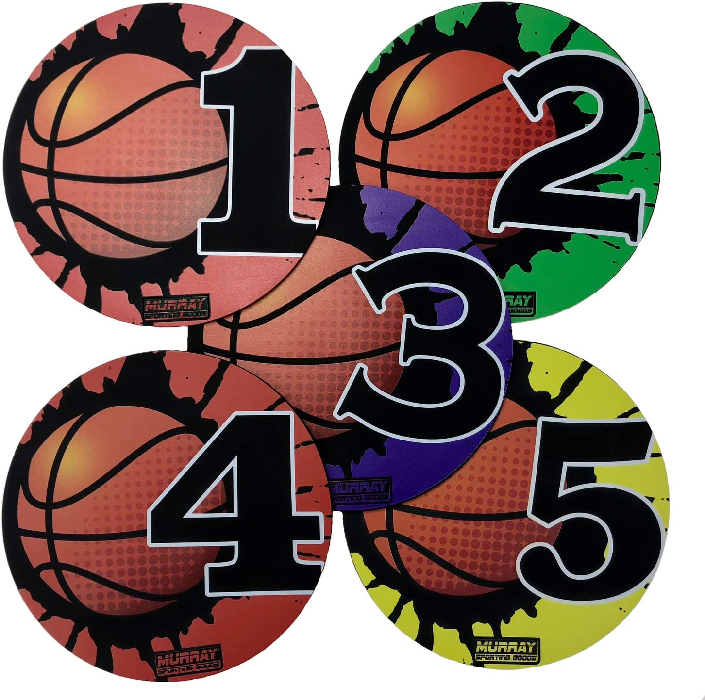 Murray Sporting Goods 40% OFF Cheap Sale Basketball Training Markers of Pack Shot Popular brand in the world