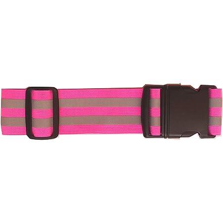 Safety Jogging Reflective Belt Elastic Running Sash Band YI