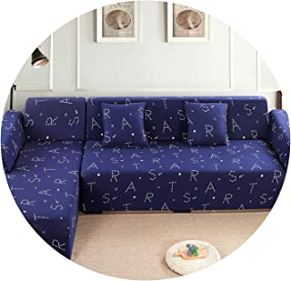Beans and Balls Elastic Sofa Cover Wrap All Inclusive Slip Resistant Sofa Covers seat Couch Covers Sofa Towel Single/Two/Three/Four Seater,K374,AB 140-185cm