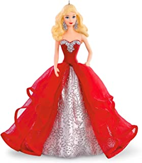 Hallmark Compatible Barbie Keepsake Ornament 2015 Holiday Collection