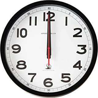 Howard Miller Accuwave II Wall Clock 625-205 – Modern & Round with Atomic, Radio Control Movement