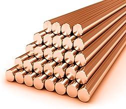 1/4 inch diameter koper ronde staaf/staaf 0.5 Metres (500mm) in Length