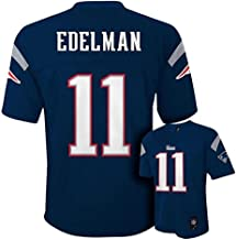 Outerstuff Julian Edelman New England Patriots #11 NFL Youth Mid-Tier Jersey Navy
