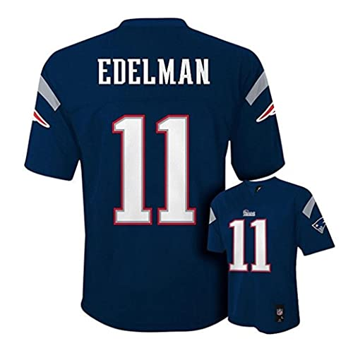 Outerstuff Julian Edelman New England Patriots  11 NFL Youth Mid-Tier Jersey  Navy 38b47113e