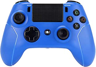 $52 » Teatop Ps4 Wireless Bluetooth Game Handle PS4 Android Apple Bluetooth Connection Handle Touch Screen (Color : Blue)