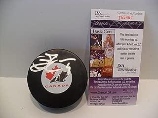 Scott Stevens Autographed Signed Team Canada Puck - JSA Authentic Memorabilia New Jersey Devils
