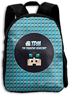 Dan-TDM 3D Kids Customized Backpack School Bags