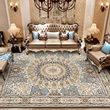 Persian Vintage Area Rug for Living Room Non-Slip Soft Shaggy Carpet Indoor Bedroom Rugs 47.2 x 63IN