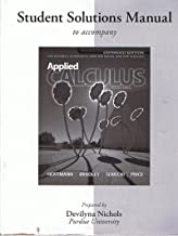 Student's Solutions Manual to Accompany Hoffman/Bradley/Sobecki/Price: Applied Calculus For Business, Economics, and the Social and Life Sciences, 11th Edition, Expanded Edition, Prepared by Devilyna Nichols