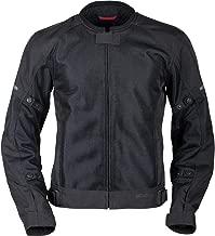 Pilot Motosport Men's Slate Air Mesh Motorcycle Jacket, BLACK, XL (X-Large)