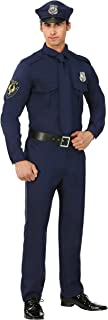 Men's Police Costume Cop Costume for Adults