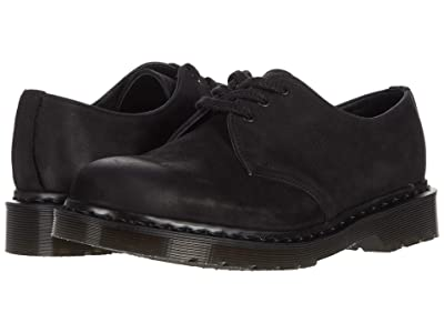 Dr. Martens Made In England 1461 Made in England (Black) Industrial Shoes