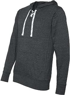 JA8231 Unisex Sport Lace Jersey Hood - Charcoal Heather - 'XL