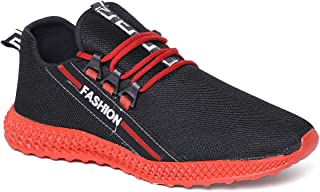 Climbr Lifestyle Red Casual Shoes