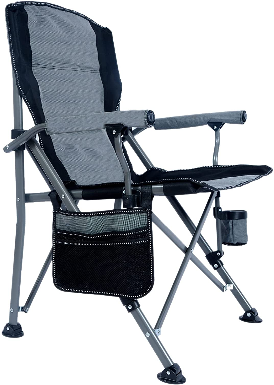 Lamberia Folding Camping Chair for Adults Duty Nippon regular agency Ranking TOP15 Heavy 330 LBS Cap