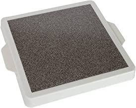 Home-X - Microwave Warming Tray with Handles, Classic Cordless and Convenient Design Allows You to Keep Food Warm from Direct or Indirect Heating