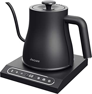Jocuu Electric Gooseneck Kettle Variable Temperature Control, Pour Over Coffee Kettle Tea Kettle, Keep Warm Function, 100%...